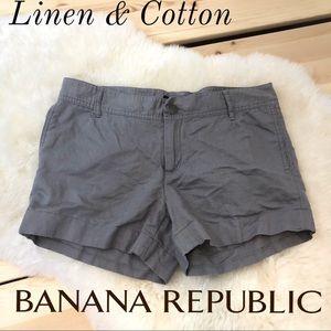Banana Republic Linen & Cotton Shorts Ryan Fit